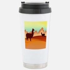 2 alpacas 2.png Travel Mug