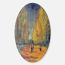 Les Alyscamps by Vincent Van Gogh Decal