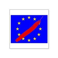 Strike Through Stars emblem Sticker