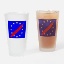 Strike Through Stars emblem Drinking Glass