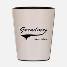 Grandma Since 2013 Shot Glass