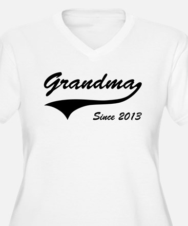Grandma Since 2013 Plus Size T-Shirt