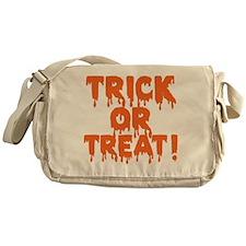 Halloween, Vintage Trick or Treat! Messenger Bag