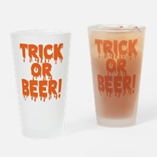 Trick or Beer! Drinking Glass