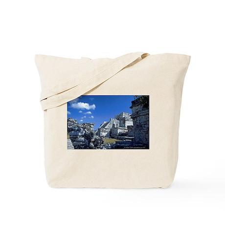 Tulum Fortress Ruins Tote Bag
