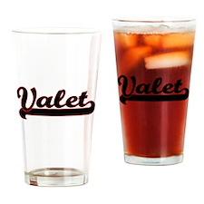 Valet Classic Job Design Drinking Glass