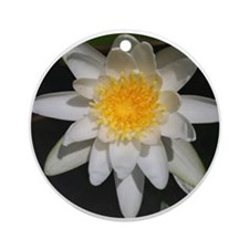Graceful Waterlily Ornament (Round)
