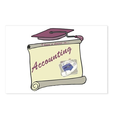 Accounting Degree Postcards (Package of 8)