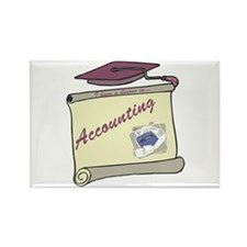 Accounting Degree Rectangle Magnet (10 pack)