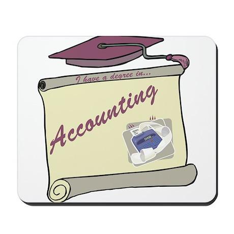 Accounting Degree Mousepad