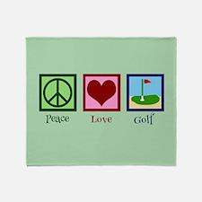 Golf Green Throw Blanket