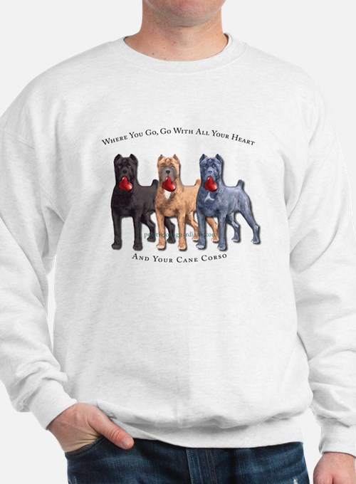 Cute Cane corso mastiff Sweatshirt