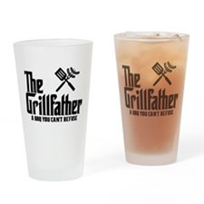 The Grillfather Drinking Glass
