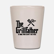The Grillfather Shot Glass