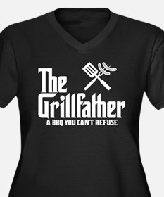The Grillfather Plus Size T-Shirt
