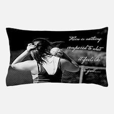 Girl Shotput thrower Pillow Case