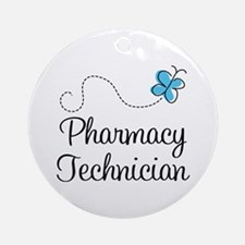 Pharmacy Technician Ornament (Round)