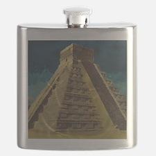 Cute Mayan Flask