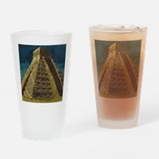 Cute Chichen itza Drinking Glass