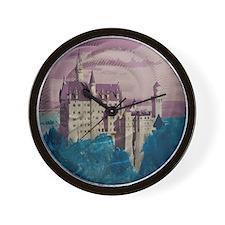 Cute Neuschwanstein castle Wall Clock