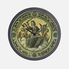 Justice by Raphael Wall Clock