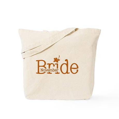 November Bride Tote Bag