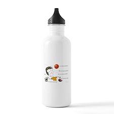 W21 Struck by Balls Water Bottle