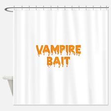 Vampire Bait Shower Curtain