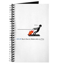 V91.07 Burn Due To Water-Skis On Fire Journal