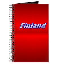 """5""""x8"""" Finland Gill Sans Journal"""