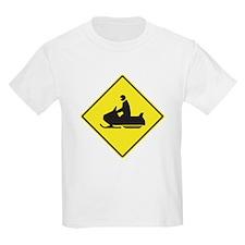 Snowmobile Crossing T-Shirt