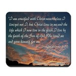 Crucified With Christ Mousepad