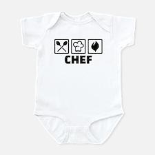 Chef cook equipment Infant Bodysuit