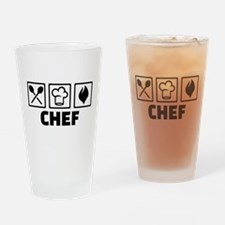 Chef cook equipment Drinking Glass