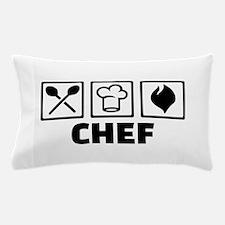 Chef cook equipment Pillow Case