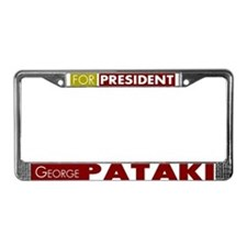 George Pataki for President V1 License Plate Frame