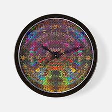 Tesselation Art Wall Clock