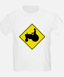 Tractor Crossing 2 T-Shirt