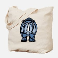 Blue Rhino Virus Tote Bag