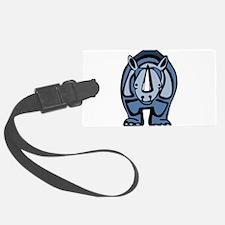 Blue Rhino Virus Luggage Tag