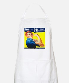 Heres the 99 Percent That Counts Apron