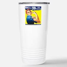 Heres the 99 Percent That Counts Travel Mug