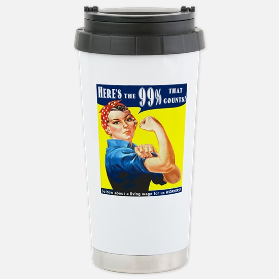 Heres the 99 Percent That Counts Travel Mug