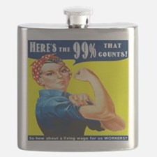 Heres the 99 Percent That Counts Flask