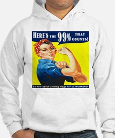 Heres the 99 Percent That Counts Hoodie