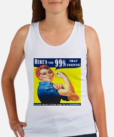 Heres the 99 Percent That Counts Tank Top