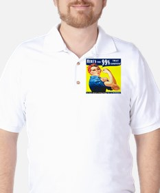 Heres the 99 Percent That Counts T-Shirt