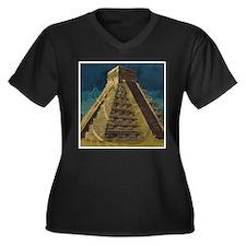 Chichen Itza Plus Size T-Shirt