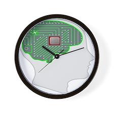 Artificial Intelligence Wall Clock