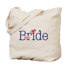July Bride Tote Bag
